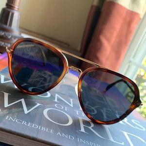 Celine 41374/S Aviator Dark Havana Sunglasses